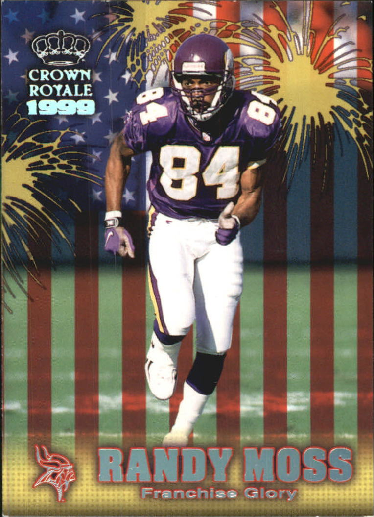 1999 Crown Royale Franchise Glory #14 Randy Moss