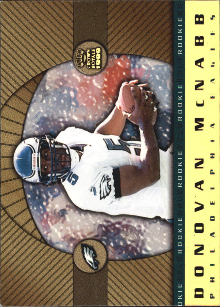1999 Crown Royale Rookie Gold #18 Donovan McNabb