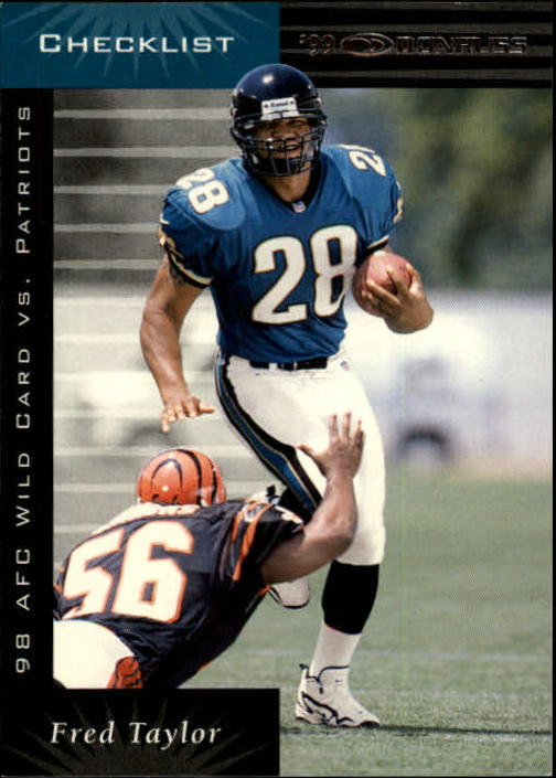 1999 Donruss #197 Fred Taylor CL