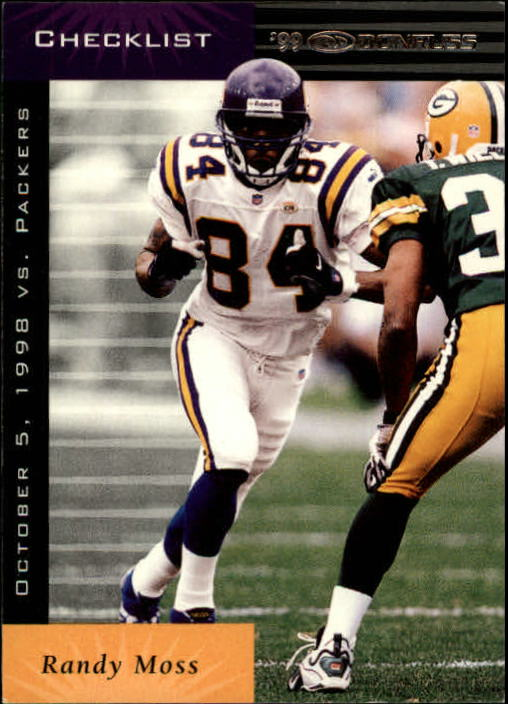 1999 Donruss #199 Randy Moss CL