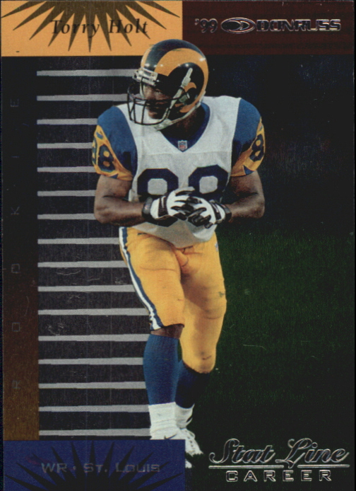 1999 Donruss Stat Line Career #146 Torry Holt/191