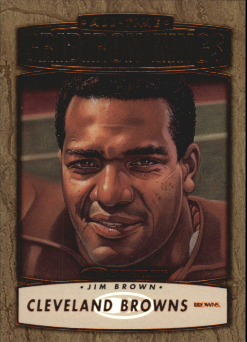 1999 Donruss All-Time Gridiron Kings #AGK5 Jim Brown