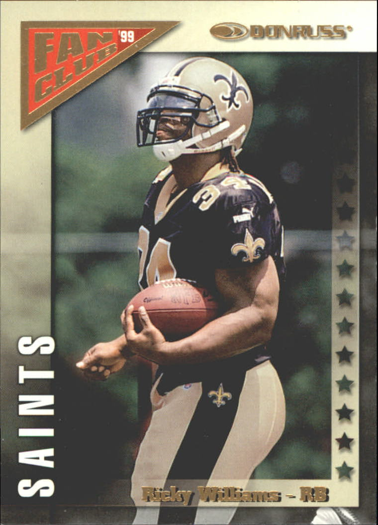 1999 Donruss Fan Club Gold #FC2 Ricky Williams