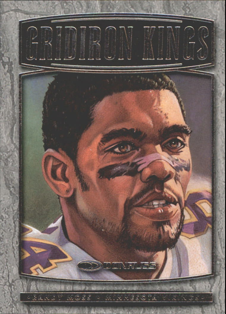1999 Donruss Gridiron Kings #GK1 Randy Moss