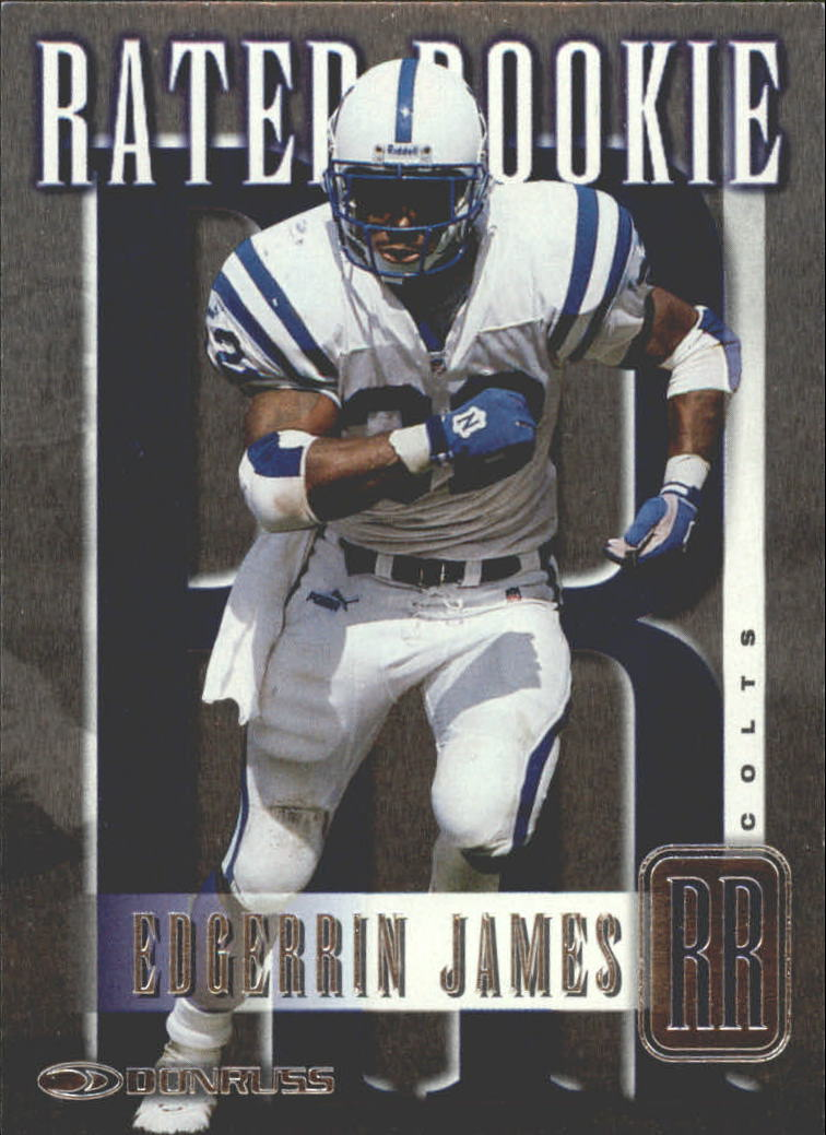 1999 Donruss Rated Rookies #RR8 Edgerrin James
