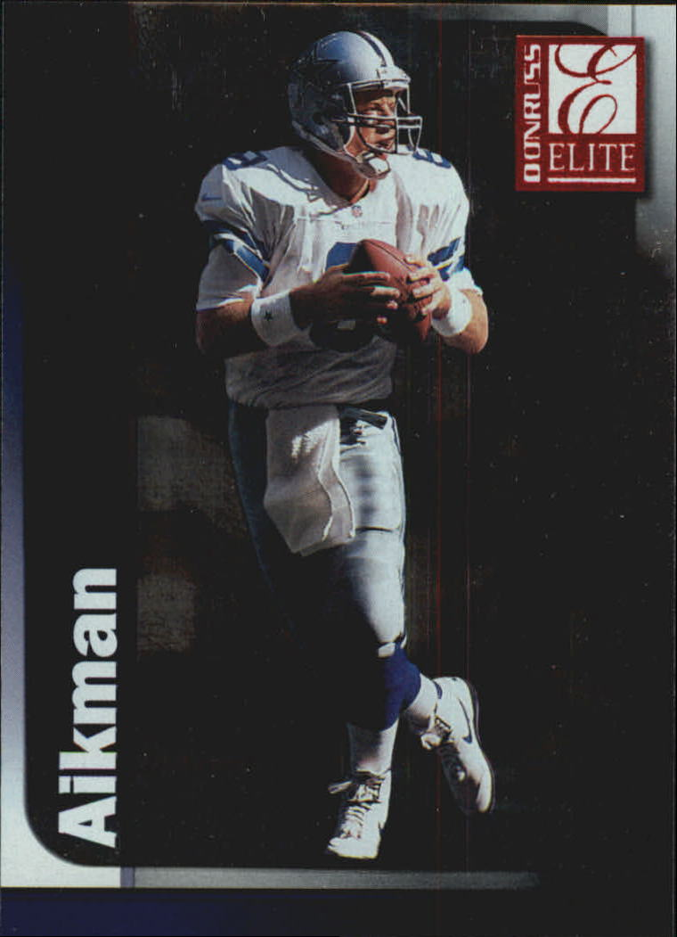 1999 Donruss Elite #8 Troy Aikman