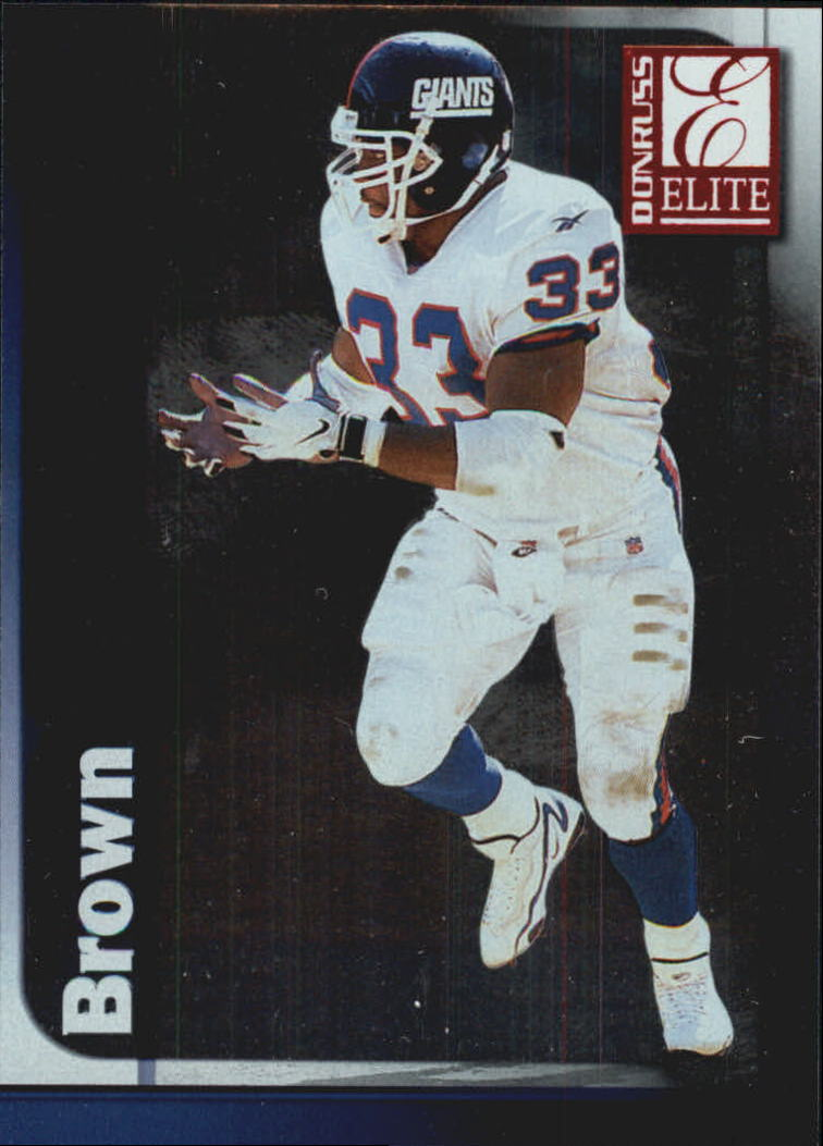 1999 Donruss Elite #33 Gary Brown