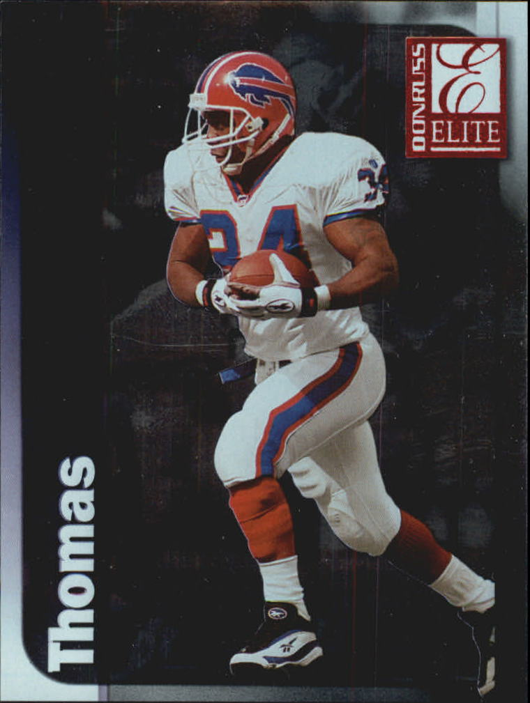 1999 Donruss Elite #34 Thurman Thomas