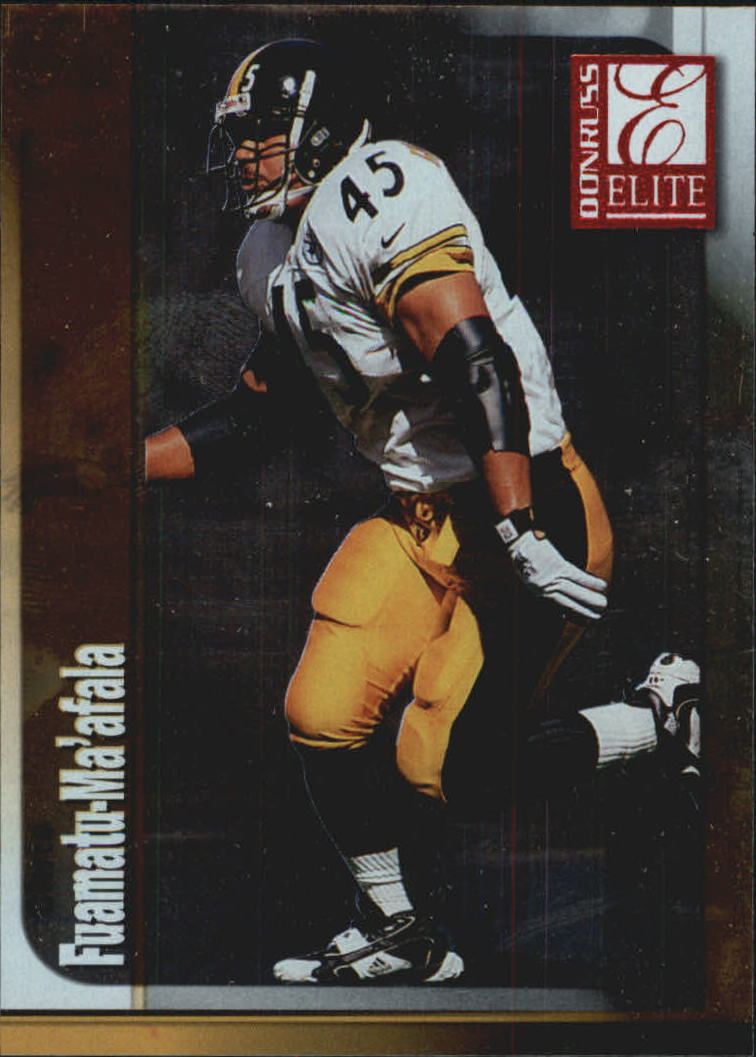 1999 Donruss Elite #45 Chris Fuamatu-Ma'afala