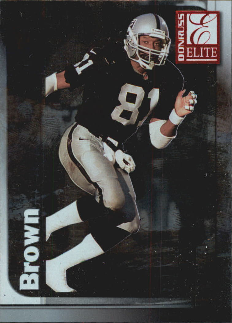 1999 Donruss Elite #81 Tim Brown
