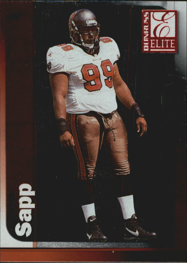 1999 Donruss Elite #99 Warren Sapp UER