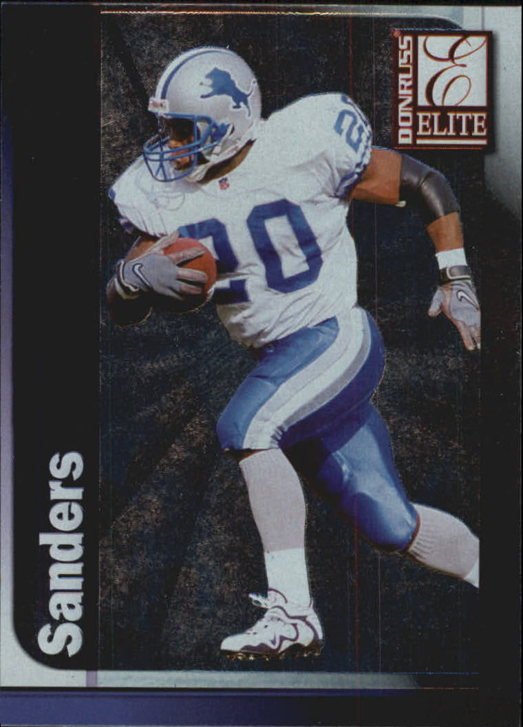 1999 Donruss Elite #120 Barry Sanders