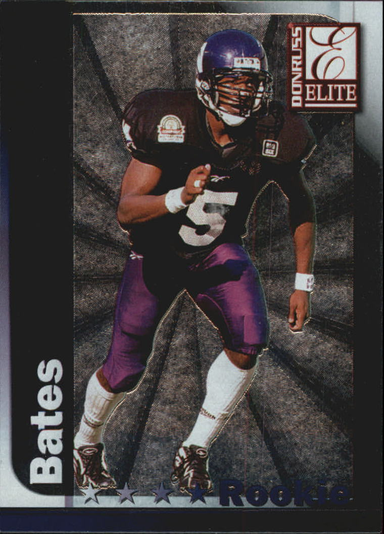 1999 Donruss Elite #162 D'Wayne Bates RC