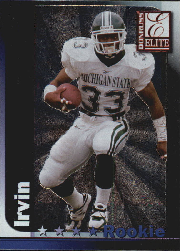 1999 Donruss Elite #179 Sedrick Irvin RC