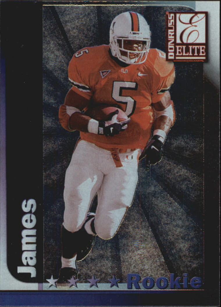 1999 Donruss Elite #180 Edgerrin James RC