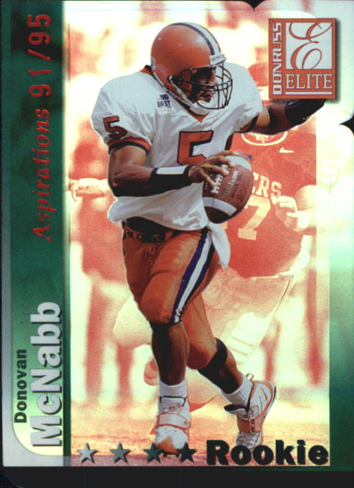 1999 Donruss Elite Aspirations #190 Donovan McNabb/95