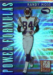 1999 Donruss Elite Power Formulas #1 Randy Moss
