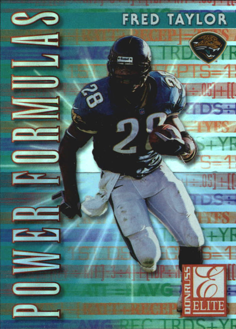 1999 Donruss Elite Power Formulas #8 Fred Taylor