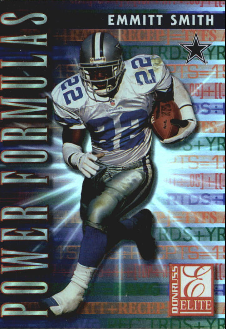 1999 Donruss Elite Power Formulas #9 Emmitt Smith
