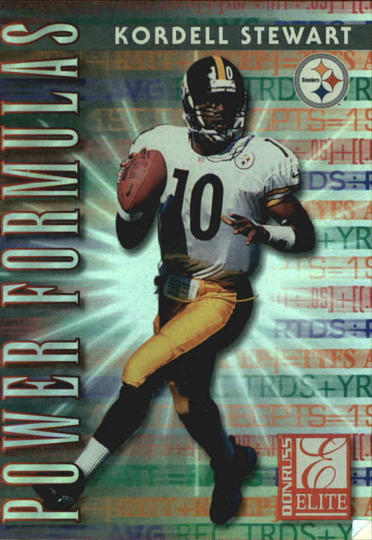 1999 Donruss Elite Power Formulas #13 Kordell Stewart