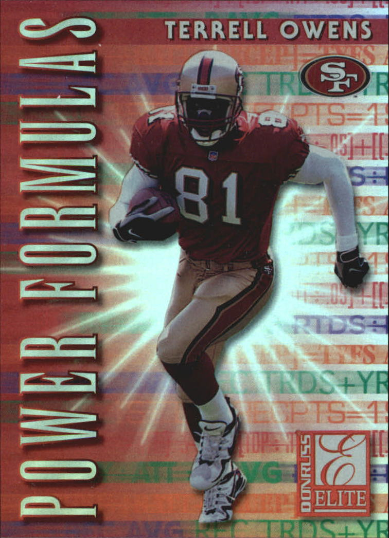 1999 Donruss Elite Power Formulas #29 Terrell Owens