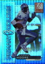 1999 Donruss Elite Primary Colors Blue #1 Herman Moore