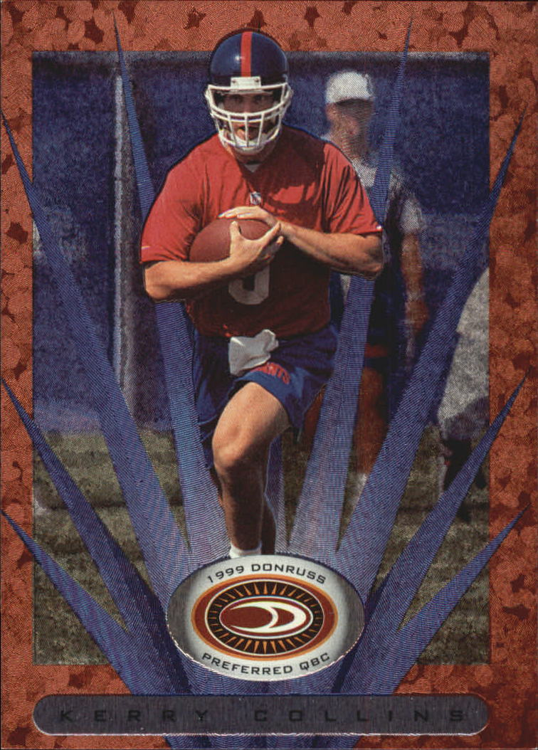1999 Donruss Preferred QBC #7 Kerry Collins B