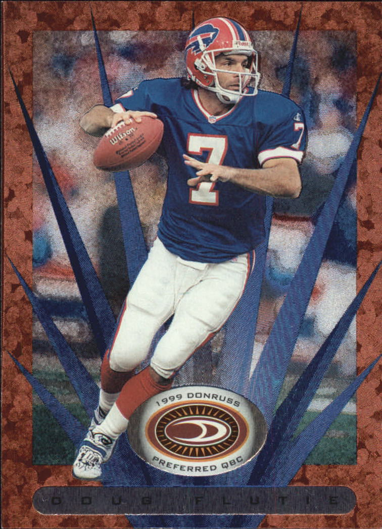 1999 Donruss Preferred QBC #15 Doug Flutie B