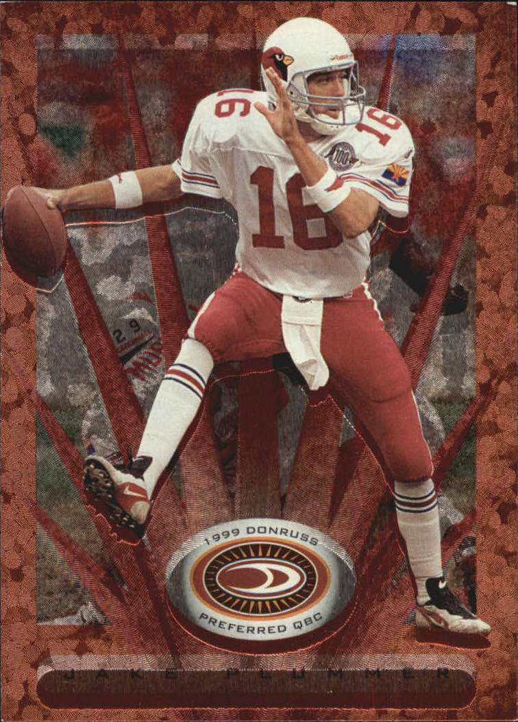 1999 Donruss Preferred QBC #36 Jake Plummer B