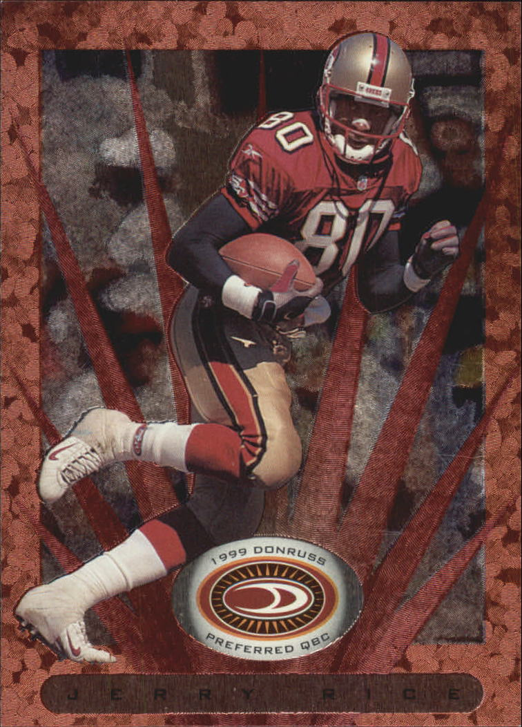 1999 Donruss Preferred QBC #37 Jerry Rice B