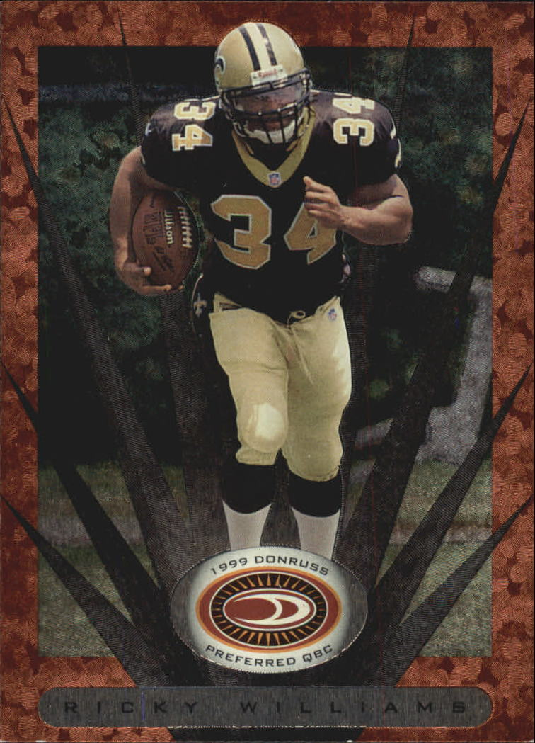 1999 Donruss Preferred QBC #43 Ricky Williams B RC