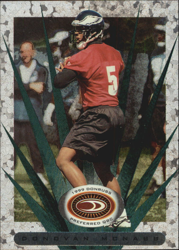 1999 Donruss Preferred QBC #68 Donovan McNabb S