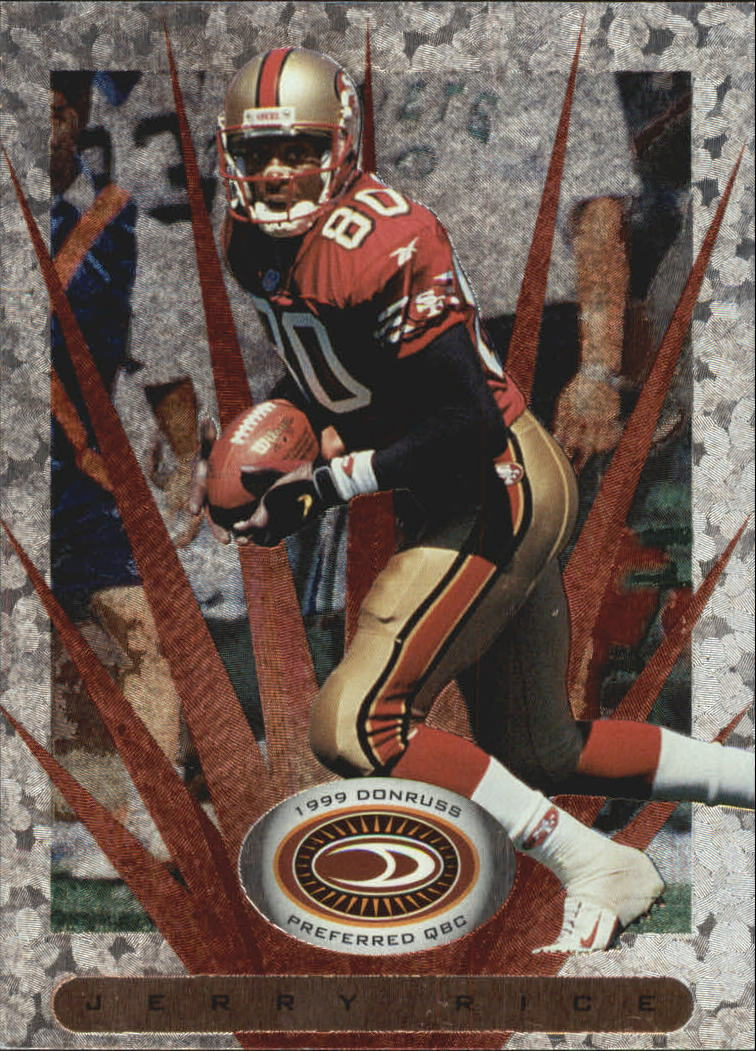 1999 Donruss Preferred QBC #73 Jerry Rice S