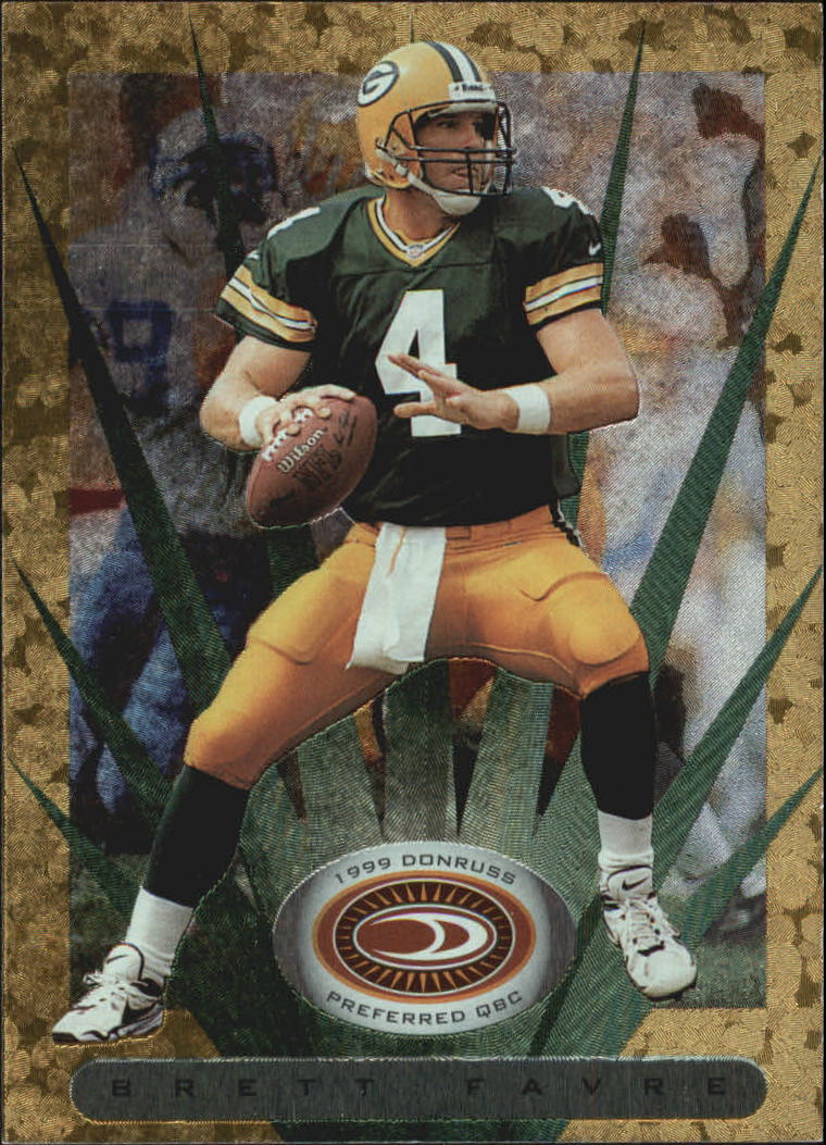 1999 Donruss Preferred QBC #88 Brett Favre G