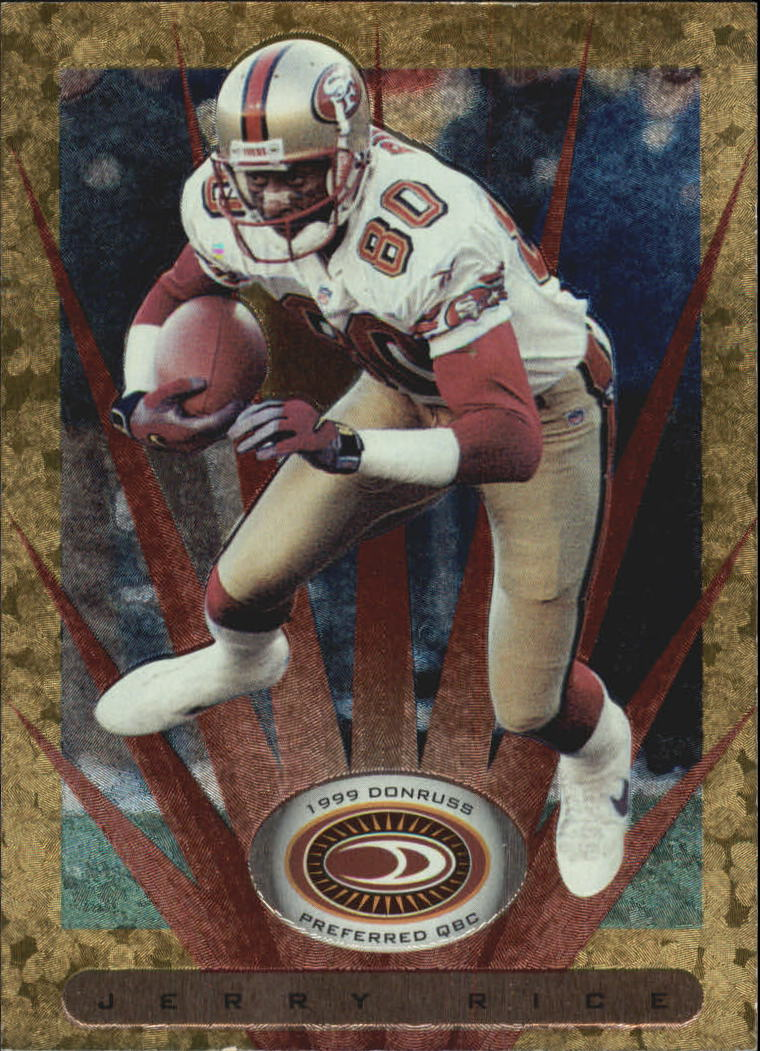 1999 Donruss Preferred QBC #100 Jerry Rice G