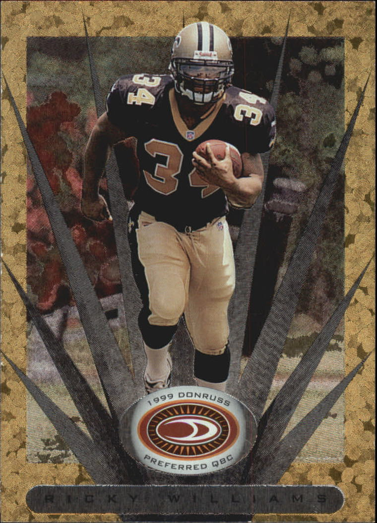1999 Donruss Preferred QBC #104 Ricky Williams G