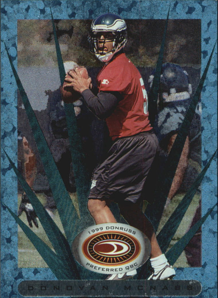 1999 Donruss Preferred QBC #114 Donovan McNabb P
