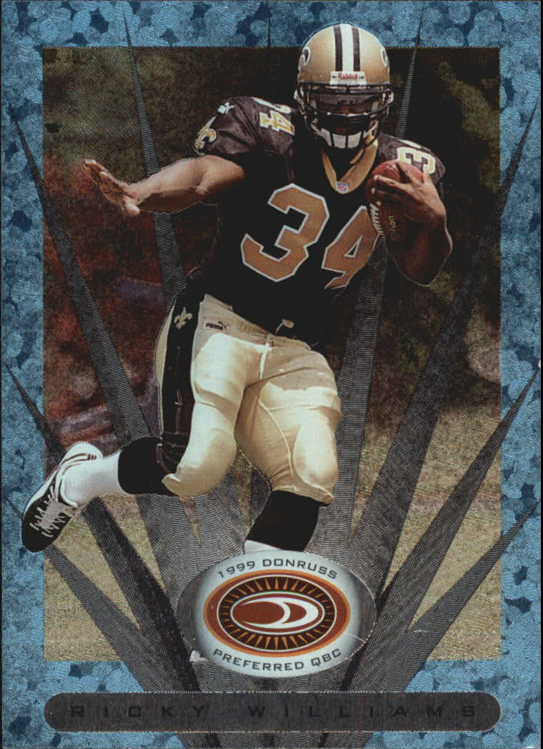 1999 Donruss Preferred QBC #120 Ricky Williams P