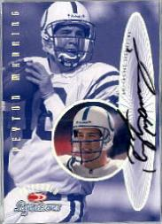 1999 Donruss Preferred QBC Autographs #5 Peyton Manning