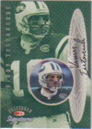 1999 Donruss Preferred QBC Autographs #11 Vinny Testaverde