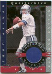 1999 Donruss Preferred QBC Materials #14 Troy Aikman S