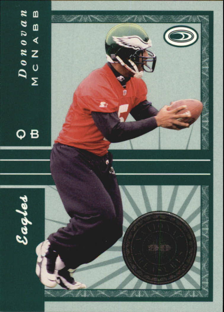 1999 Donruss Preferred QBC National Treasures #33 Donovan McNabb