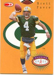 1999 Donruss Preferred QBC Passing Grade #10 Brett Favre