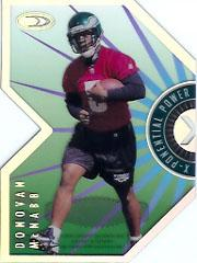 1999 Donruss Preferred QBC X-Ponential Power #3A Donovan McNabb