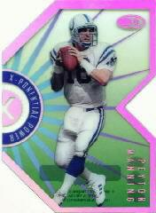 1999 Donruss Preferred QBC X-Ponential Power #5B Peyton Manning