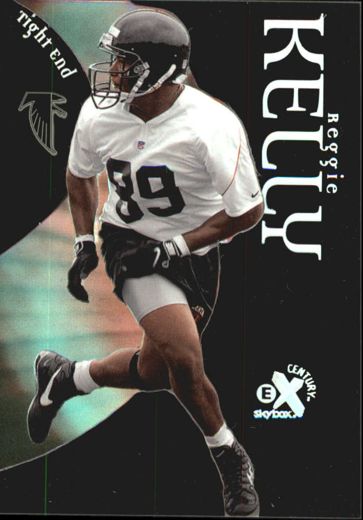 1999 E-X Century #89 Reginald Kelly RC