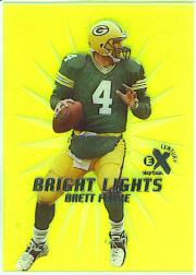 1999 E-X Century Bright Lights #4BL Brett Favre