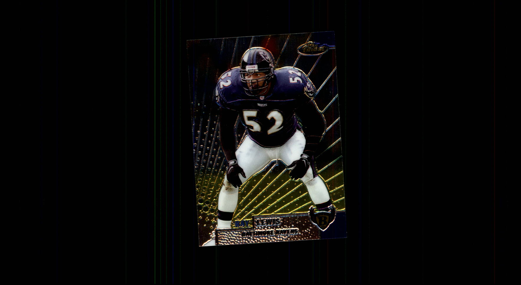 1999 Finest #106 Ray Lewis