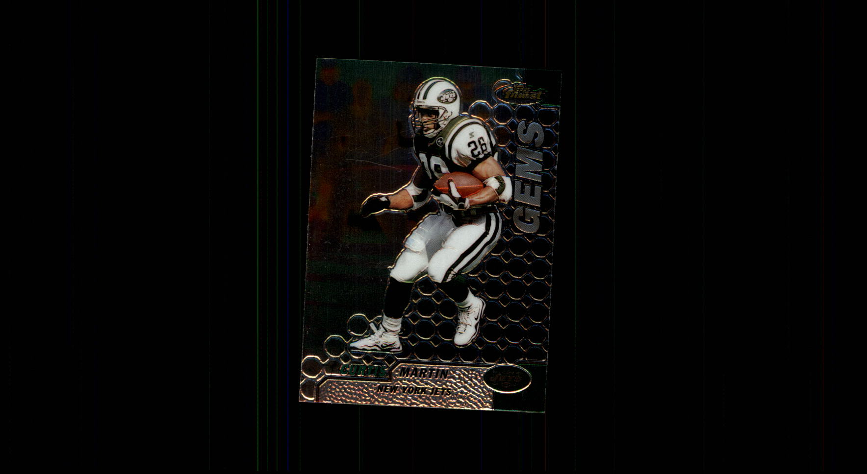 1999 Finest #127 Curtis Martin GM