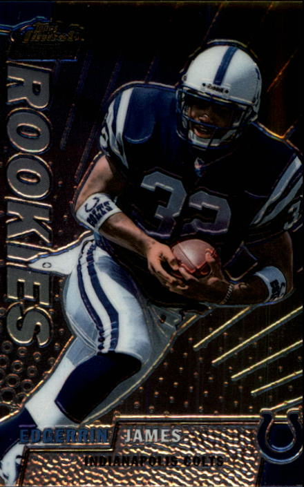 1999 Finest #152 Edgerrin James RC
